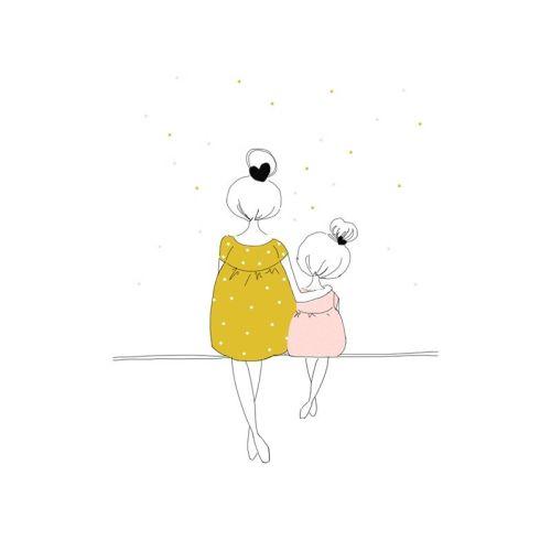 Amour Mere et Fille - Pinterest